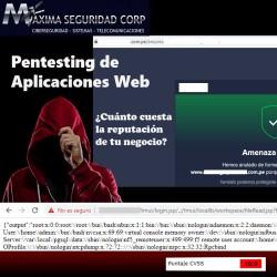 Pentesting de Aplicaciones Web